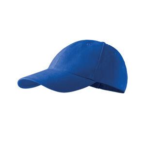 Adler 6P detská šiltovka, modrá, 380g/m2