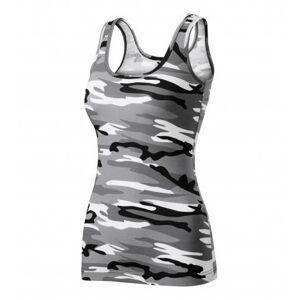 Adler Camouflage dámske tielko, gray 180g/m2