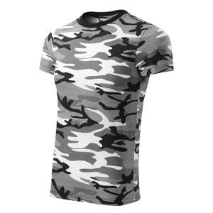 Adler Camouflage krátke tričko, gray, 160g/m2