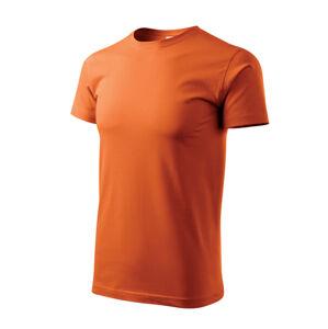 Adler Heavy New krátke tričko, oranžové, 200g/m2