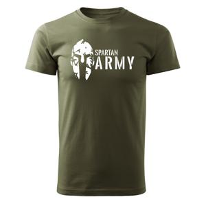 WARAGOD krátke tričko spartan army, olivová 160g/m2