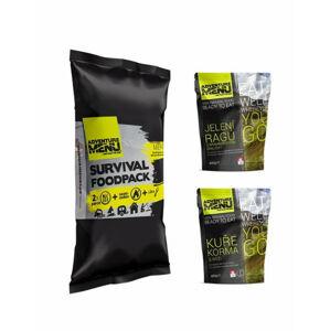Adventure Menu Survival Food pack menu IV, Jelenie ragú so zemiakmi a Kurča Korma s ryžou, 810g