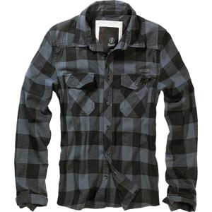 Brandit Checkshirt košeľa, šedo čierna