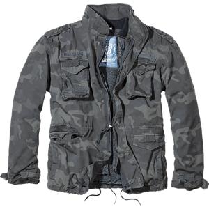 Brandit M65 Giant zimná bunda, darkcamo