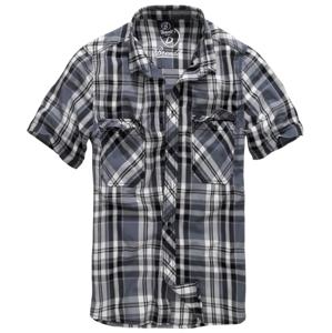 Brandit Roadstar košeľa s krátkym rukávom, čierno-antracitová