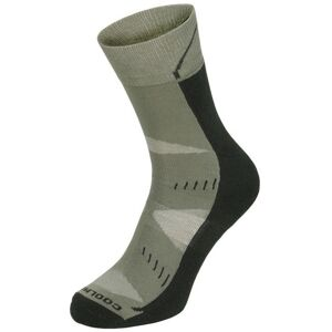 FOX Arber trekingové funkčné ponožky coolmax 1 pár zelené