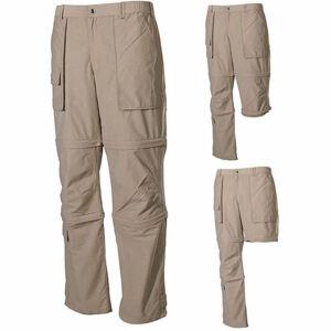Fox multifunkčné nohavice z mikrovlákna khaki