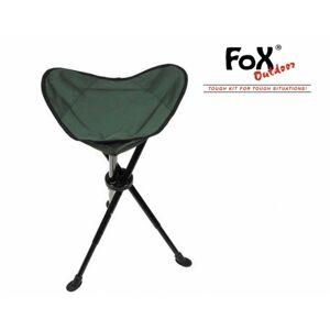 FOX rybárska stolička nastaviteľná