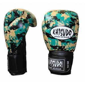 Katsudo box rukavice Kink, Army