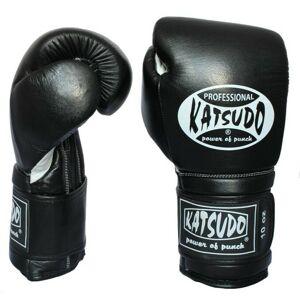 Katsudo box rukavice Profesionál II, čierne