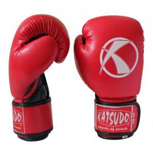 Katsudo box rukavice Punch, červené