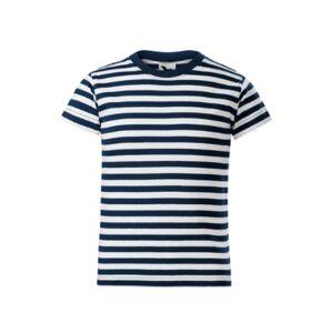 Malfini detské námornícke krátke tričko, tmavomodré