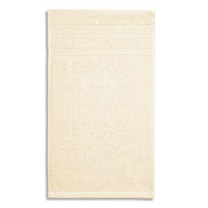 Malfini Organic malý uterák 30x50cm, mandľový