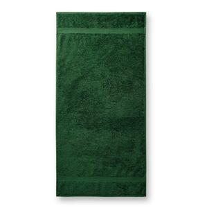 Malfini Terry Towel bavlnený uterák 50x100cm, fľaškovozelená