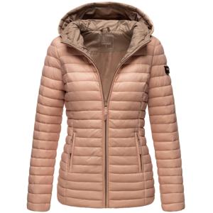 Marikoo ASRAA Dámska prechodná bunda s kapucňou, ružová