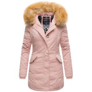 Marikoo Karmaa dámska zimná bunda s kapucňou, ružová