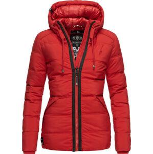 Marikoo LIEBESWOLKE dámska zimná bunda s kapucňou, červená