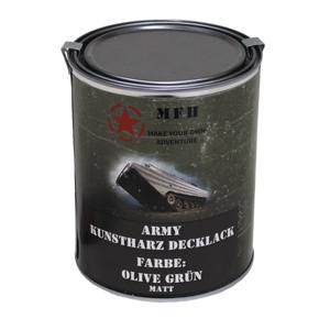 MFH army farba, oliv drab matná, 1 liter