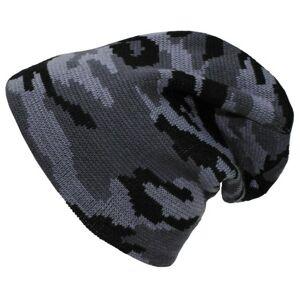 MFH Beanie čiapka pletená dlhá, camo