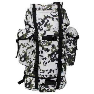 MFH BW nepremokavý ruksak vzor Snow camo 65L