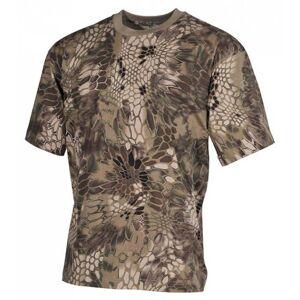 MFH maskáčové tričko vzor snake FG, 170g/m2