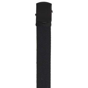 MFH Mirt opasok čierny s kovovou prackou 3cm
