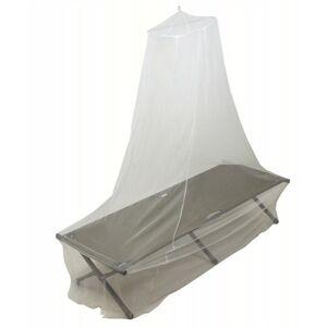 MFH moskytiera na kempingové lehátko, priesvitná-biela