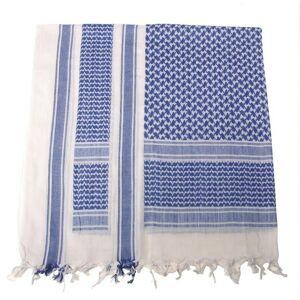 MFH PLO bavlnená arafatka modro - biela, 115 x 110cm