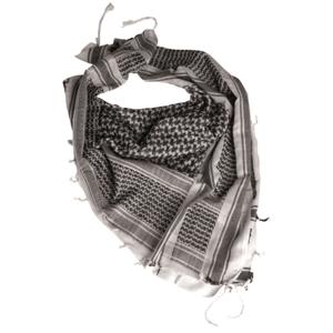 Mil-tec arafatka bielo - čierna, 110 x 110cm