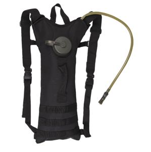 Mil-tec batoh hydratačný 3l s popruhmi, čierny