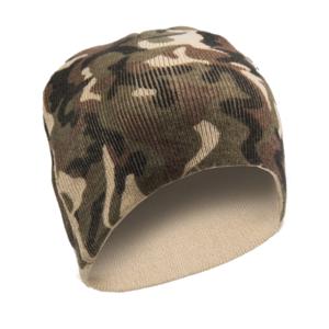 Mil-tec Beanie pletená čiapka, woodland