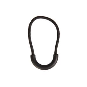 Mil-tec šnúrka na zips 10ks, čierna