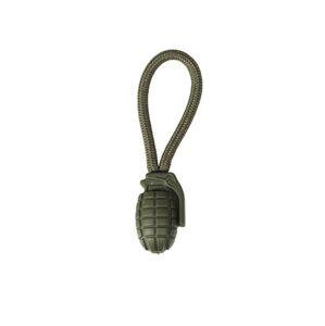 Mil-tec šnúrka na zips granát 5ks, olivová
