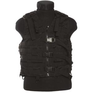 Mil-Tec taktická vesta Modular System, čierna