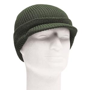 Mil-tec US čiapka pletená so šiltom, olivová