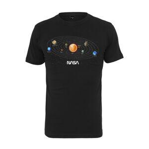 NASA pánske tričko Space, čierne