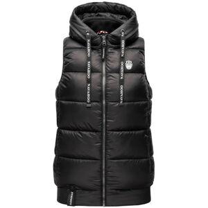 Navahoo KASSIDY Dámska vesta s kapucňou, čierna