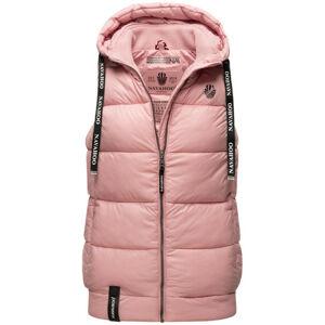 Navahoo KASSIDY Dámska vesta s kapucňou, ružová