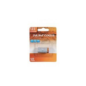 NUM´AXES Líthiová batéria CR123 BLISTER