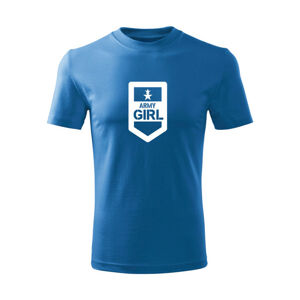 WARAGOD Detské krátke tričko Army girl, modrá