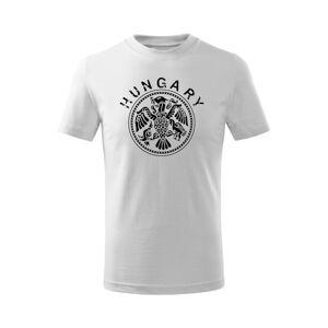 WARAGOD Detské krátke tričko Hungary, biela