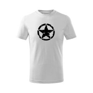 WARAGOD Detské krátke tričko Star, biela