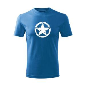 WARAGOD Detské krátke tričko Star, modrá