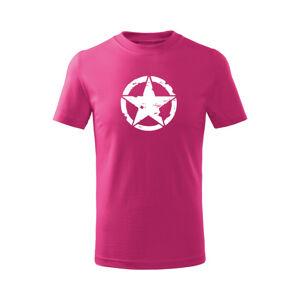 WARAGOD Detské krátke tričko Star, ružová