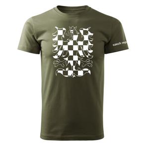 WARAGOD krátke tričko orlica, olivová 160g/m2
