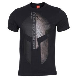 Pentagon Eternity tričko, čierne