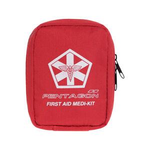 Pentagon Hippokrates IFAK lekárnička prvej pomoci, červená