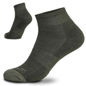 Pentagon Low cut ponožky, olivové