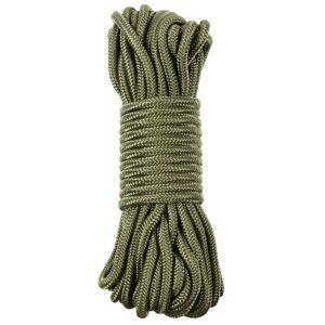 Pentagon polypropylénové lano 15 metrov 10mm olivové