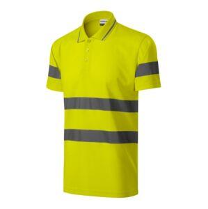 Rimeck HV Runway reflexno bezpečnostná polokošeľa, fluorescenčná žltá